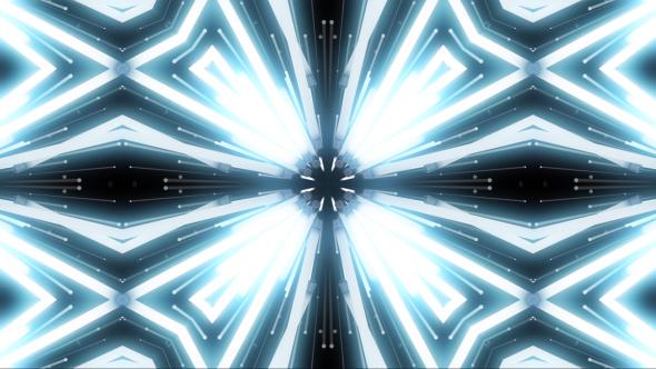VideoHive Light White Flashing Kaleidoscope 19469940