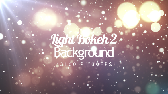 VideoHive Light Bokeh 2 19470442