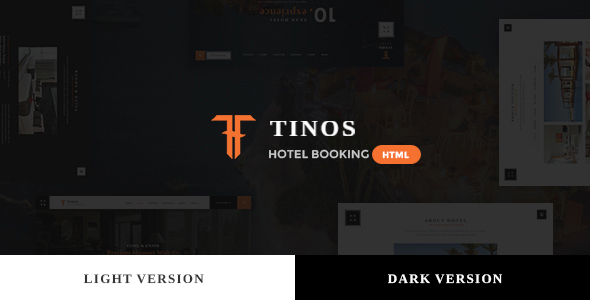 Themeforest Tinos - Premium Booking Hotel HTML Template 19372949