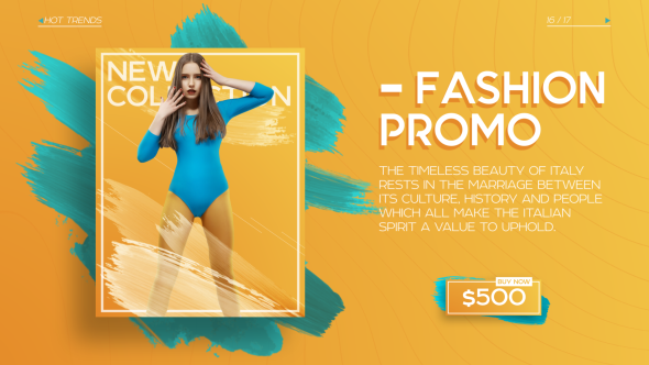 Fashion Promo Ii After Effects Template Videohive 19472289 After Effects Project Files