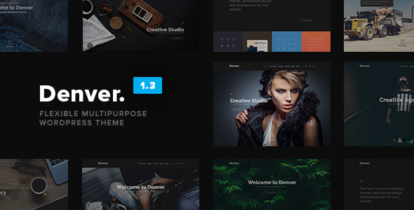 Denver - Flexible Multipurpose WordPress Theme