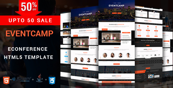 Download EventCamp - Event and Conference Template.