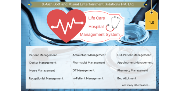 xGen Life Care Hospital Management System (PHP Scripts) images