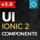 Ionic 2 UI Theme/Template App - Material Design - Yellow Dark