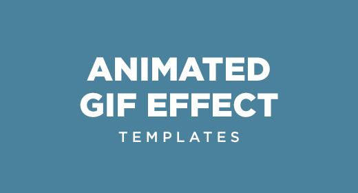 Animated Gif templates