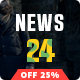 News24 - Magazine, Blog, Newspaper and Review WordPress Theme