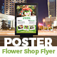 Flowers Shop Poster
