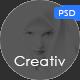 MInimal Portfolio PSD Template