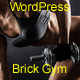 Gym Brick WordPress Theme RTL