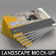 Landscape Magazine / Brochure Mock-Up