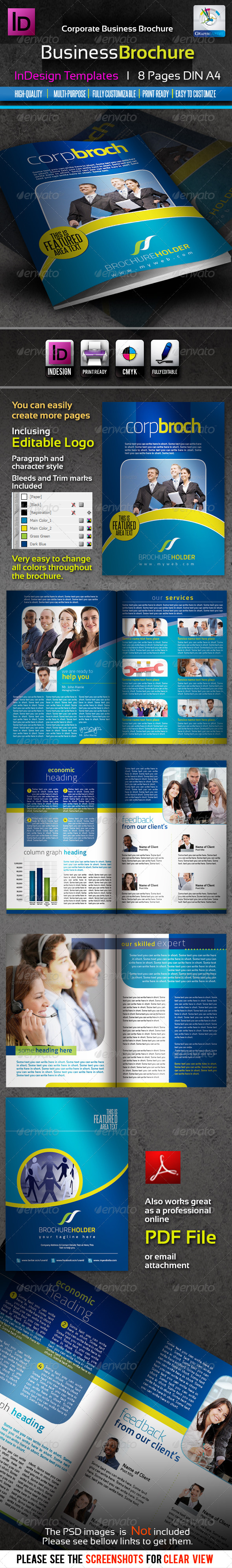 GraphicRiver Corporate Business InDesign Brochure 8pages 1911081