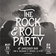 Rock & Roll Music Flyer