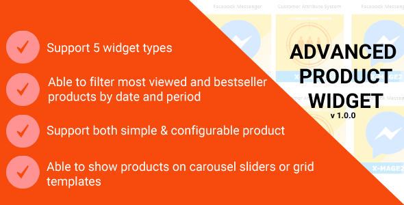Download Magento 2 Advanced Product Widget