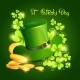 Happy Patrick Day Festival Beer Holiday Poster