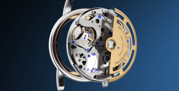 VideoHive Mechanical Watch Logo 19435512