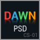 Dawn - Coming Soon PSD Template