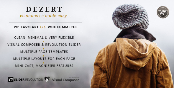 Dezert EasyCart & WooCommerce Shopping Theme