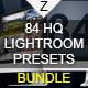 84 Lightroom Presets Bundle
