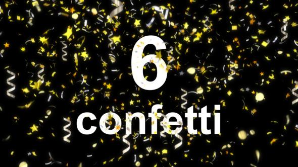 VideoHive Confetti 19479197