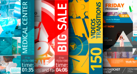 New Project - Medical Center - Big Sale - 150 videos transitions - Relax TV - Broadcast Ident