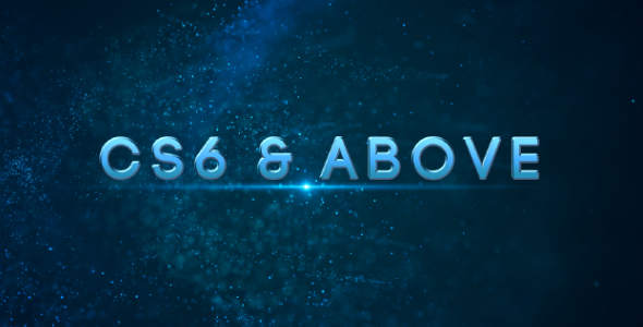 VideoHive Particle Trailer 19450183