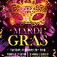 Masquerade Night Carnival Flyer