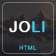 JOLI – Responsive Multi-Purpose Landing Page Template (Creative)