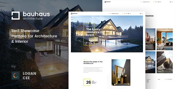 Bauhaus | Architecture & Interior PSD Template