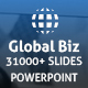 Global Biz Powerpoint Presentation Template
