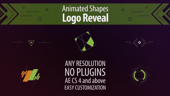 VideoHive Shape Animation Logo Reveal 19453876