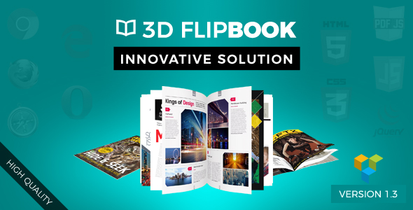 Unreal FlipBook Addon for Visual Composer WordPress Plugin