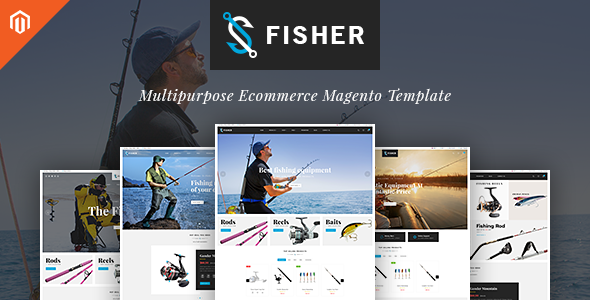 TV Fisher - MultiStore  Responsive Magento 2 Themes