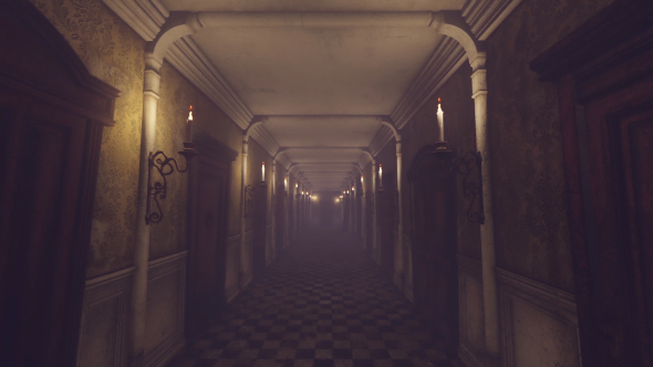 VideoHive Mystery Old Hotel Corridor 19481905