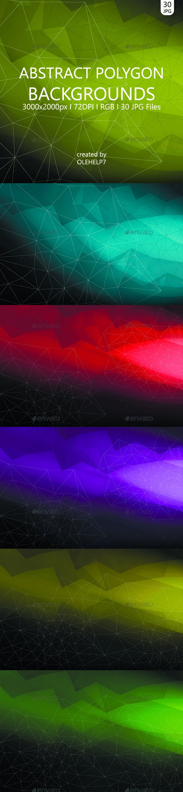 Abstract Polygon 30 Backgrounds