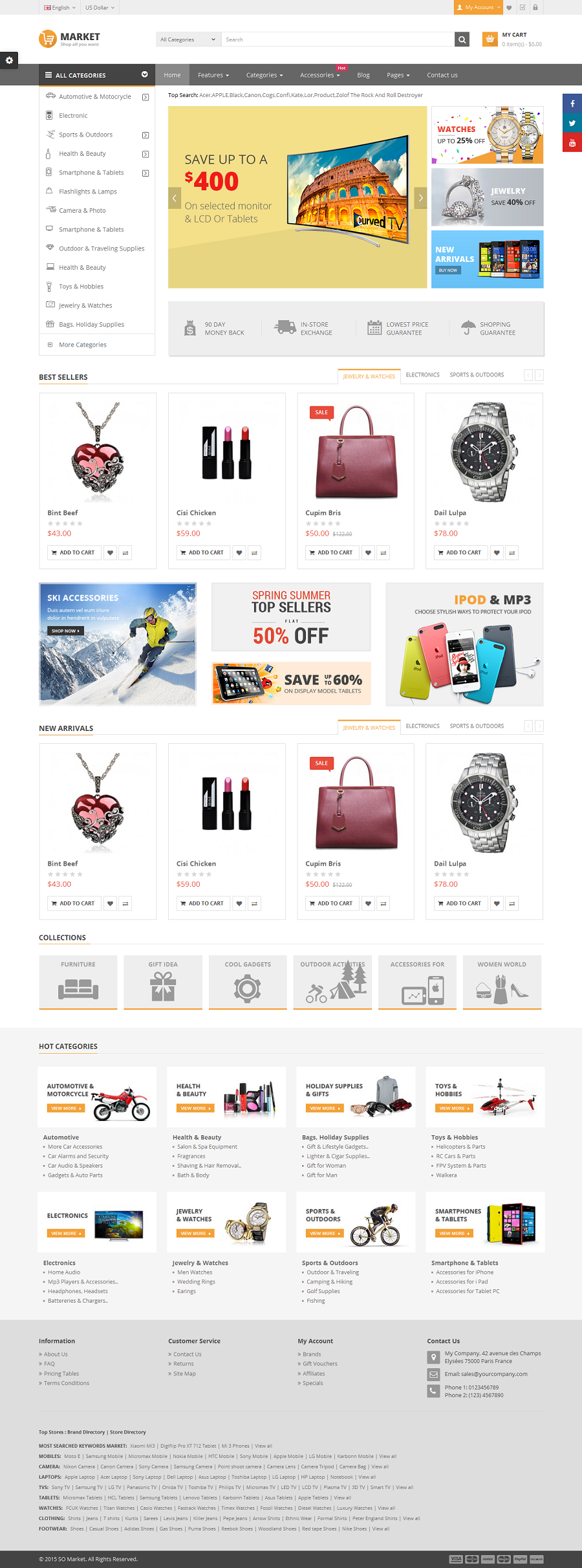 Market Responsive Multipurpose Opencart 2 3 And 2 1