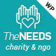 The Needs - Nonprofit, Charity, Crowdfunding WordPress Theme