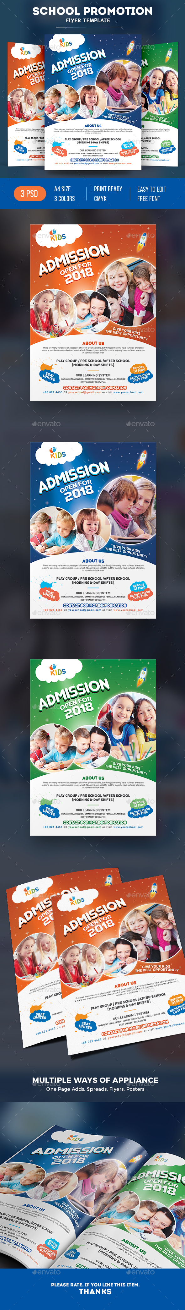 Graphicriver School Flyer 19482468