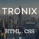 Tronix - Onepage Business Template