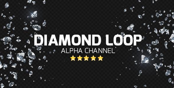 VideoHive Diamond Loop 19483192