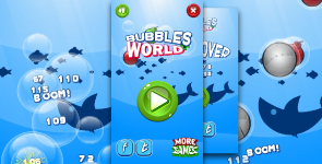 Bubbles world - HTML5 fun game + Mobile control + AdMob - 16
