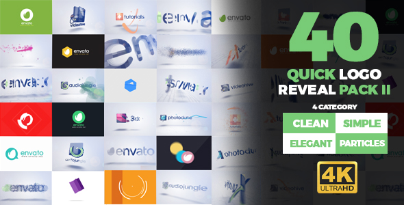 Videohive Quick Logo Reveal Pack 2 19483447