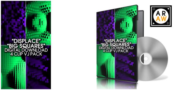 VideoHive Displace Big Squares 19484135