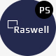 Raswell- One Page Creative PSD Template