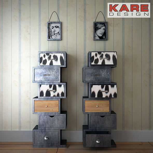 RodeoZickZack KARE Design - 3DOcean Item for Sale
