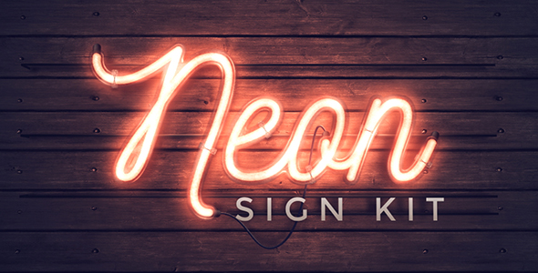 Neon Sign Kit By Thomaskovar Videohive