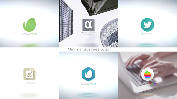 VideoHive Minimal Business Logo 19485205