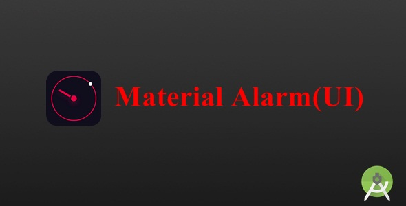 Material Android Alarm