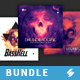 Hardcore Vibes - CD Cover Artwork Templates Bundle