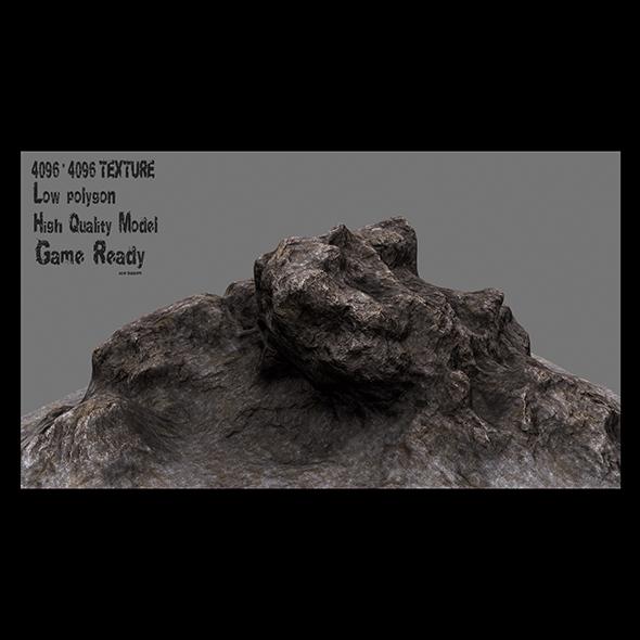rock 001 - 3DOcean Item for Sale