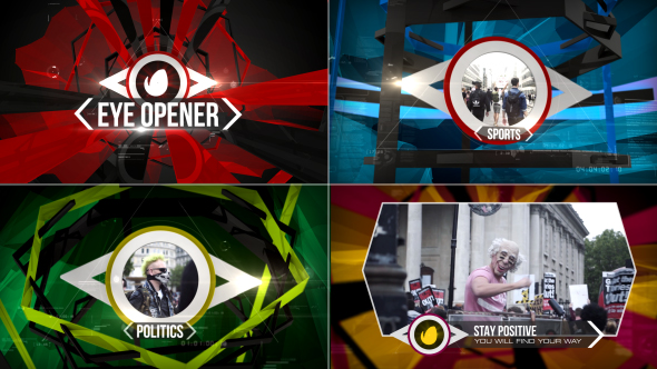 VideoHive Eye Opener- Broadcast Pack 19487439